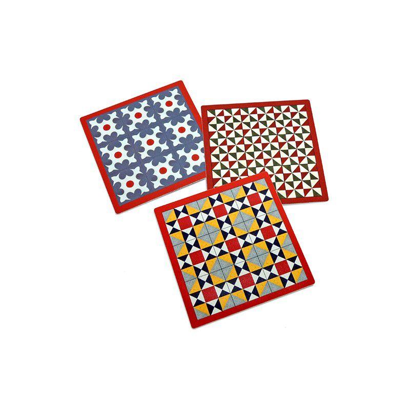 Modernist Tiles Coasters