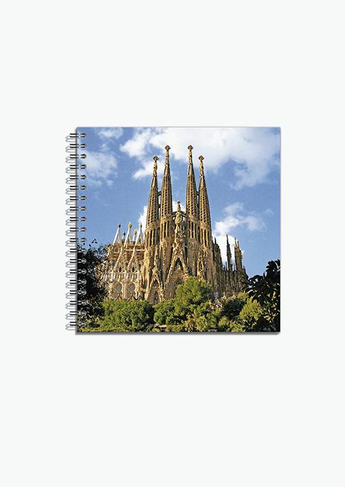 Libreta Sagrada Familia 16×16