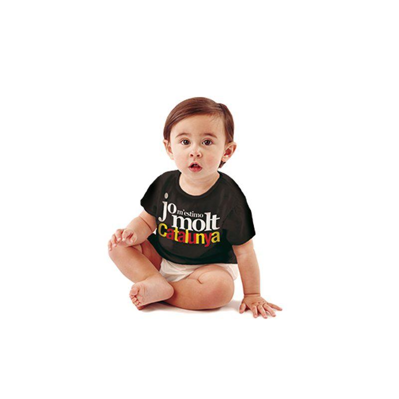 T-shirt kid Jo m'estimo Catalunya