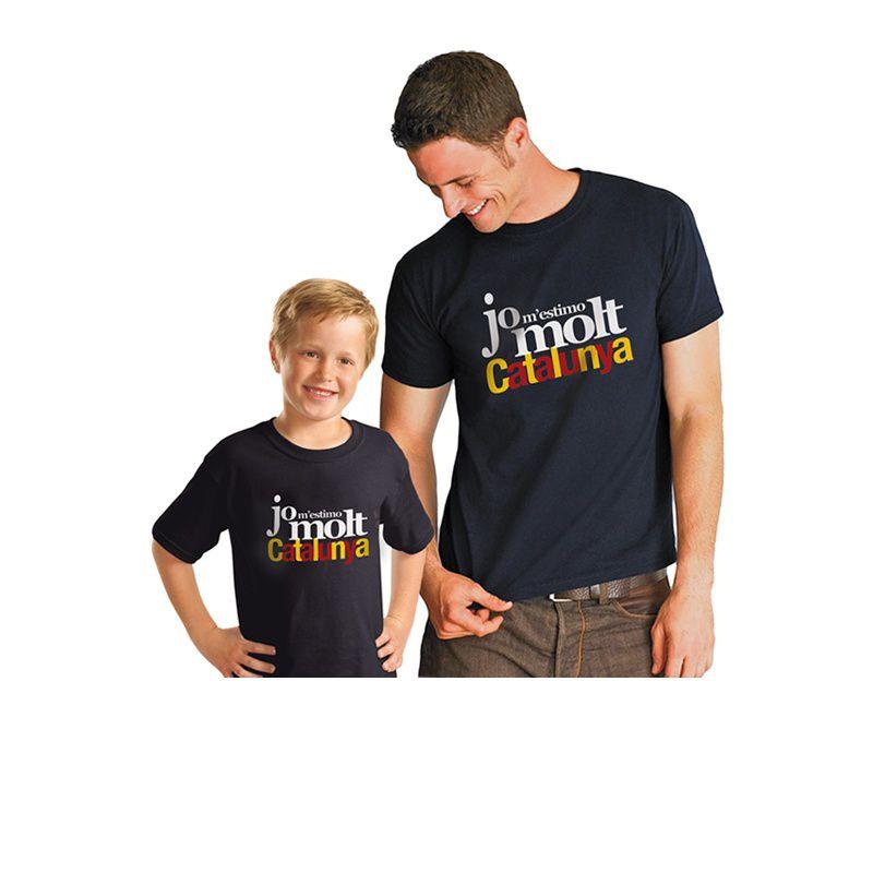 T-Shirt Jo m'estimo Catalunya