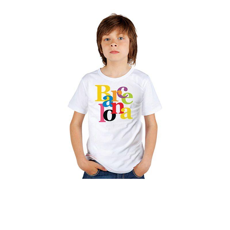 T-shirt kid Colors BCN