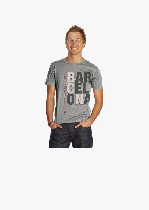 T-shirt lletres BCN