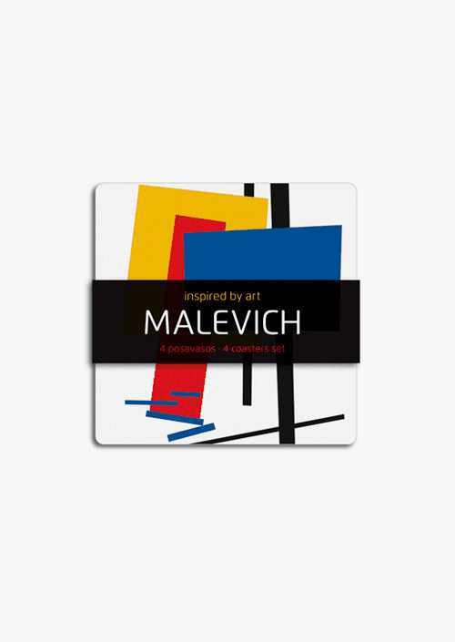 4 Malevich Coasters