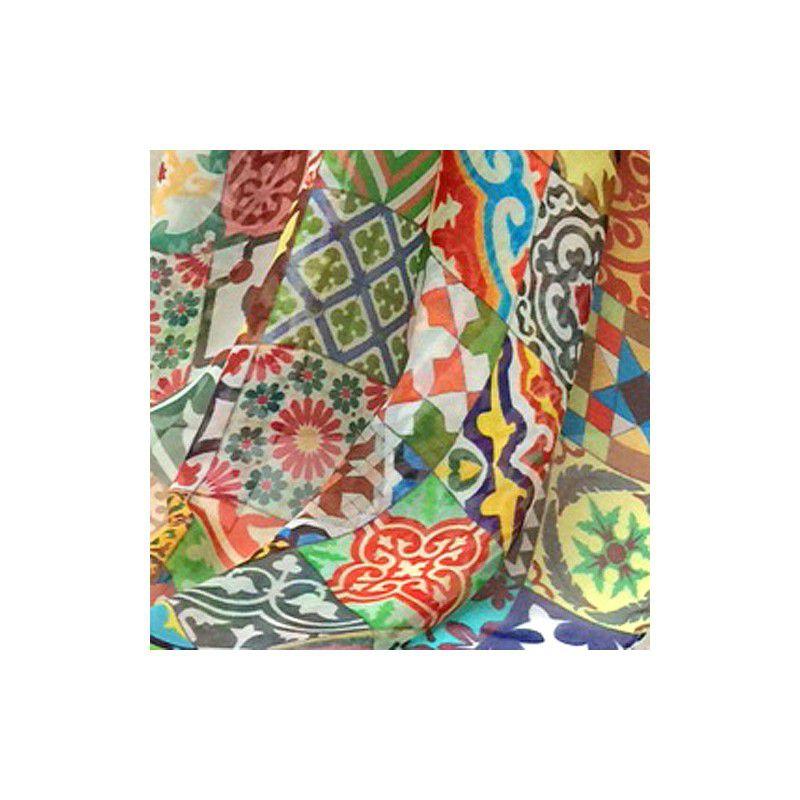 Fulard de seda Rajoles