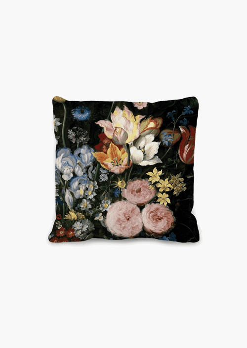Baroque Flowers Cushion