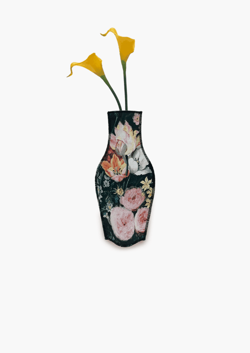 Baroque Flowers Cotton Flower Vase