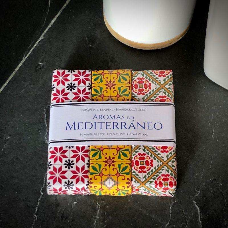 Trio Jabones Mediterraneo