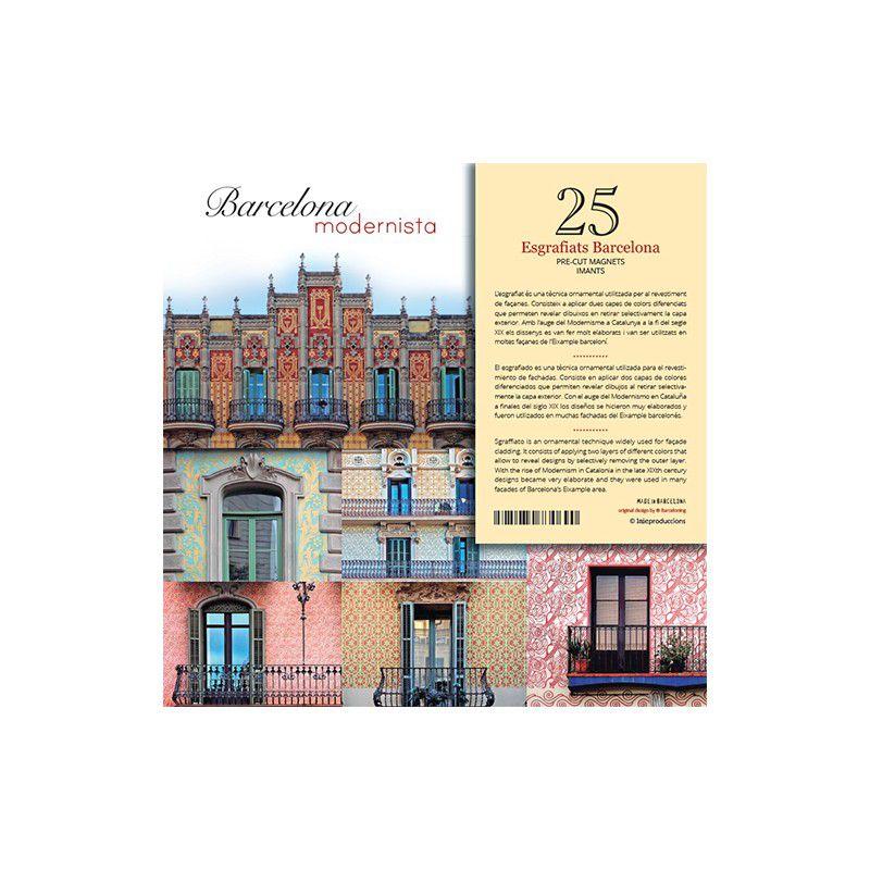 25 imants Esgrafiats