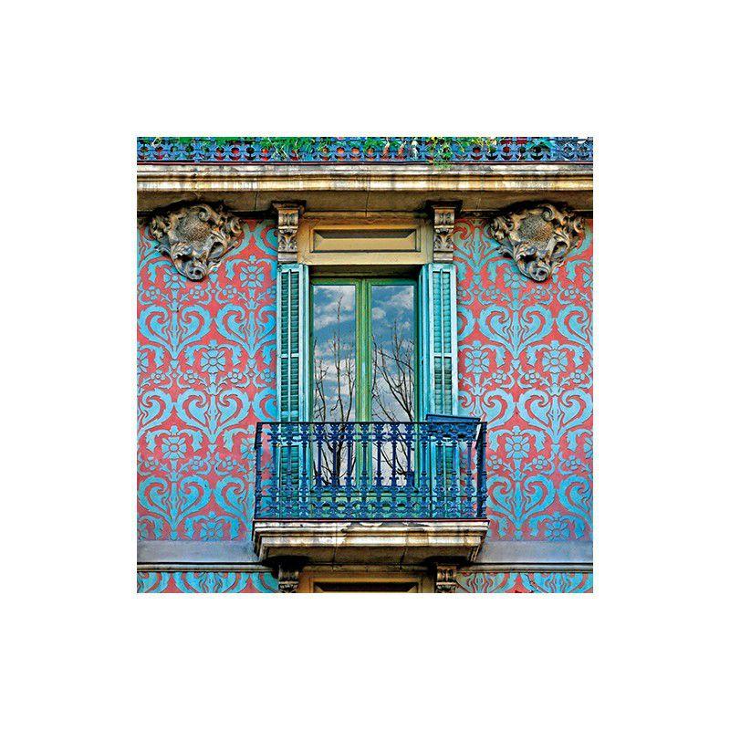 Esgrafiado calle Aribau, 91, Barcelona