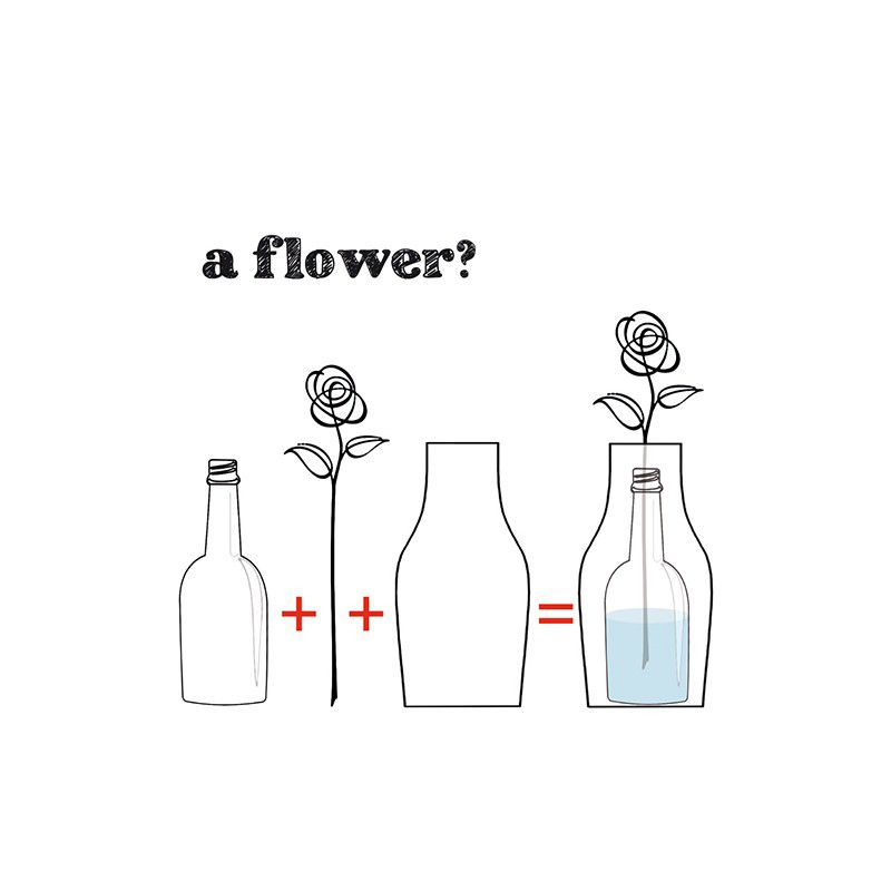 How to ensemble your flower vase