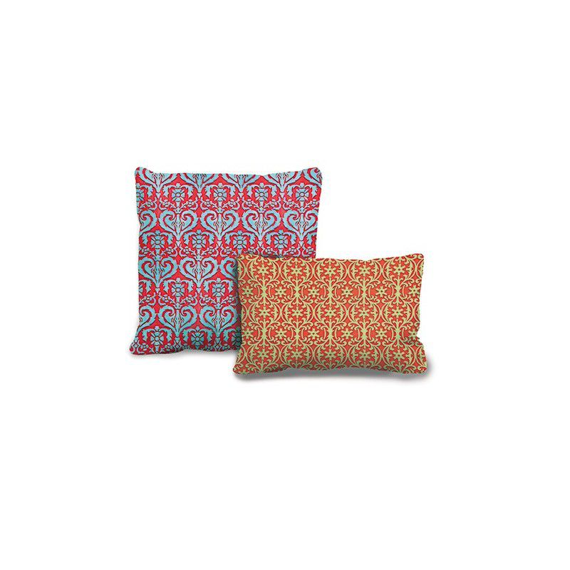 Saragossa and Aribau sgraffito cushions