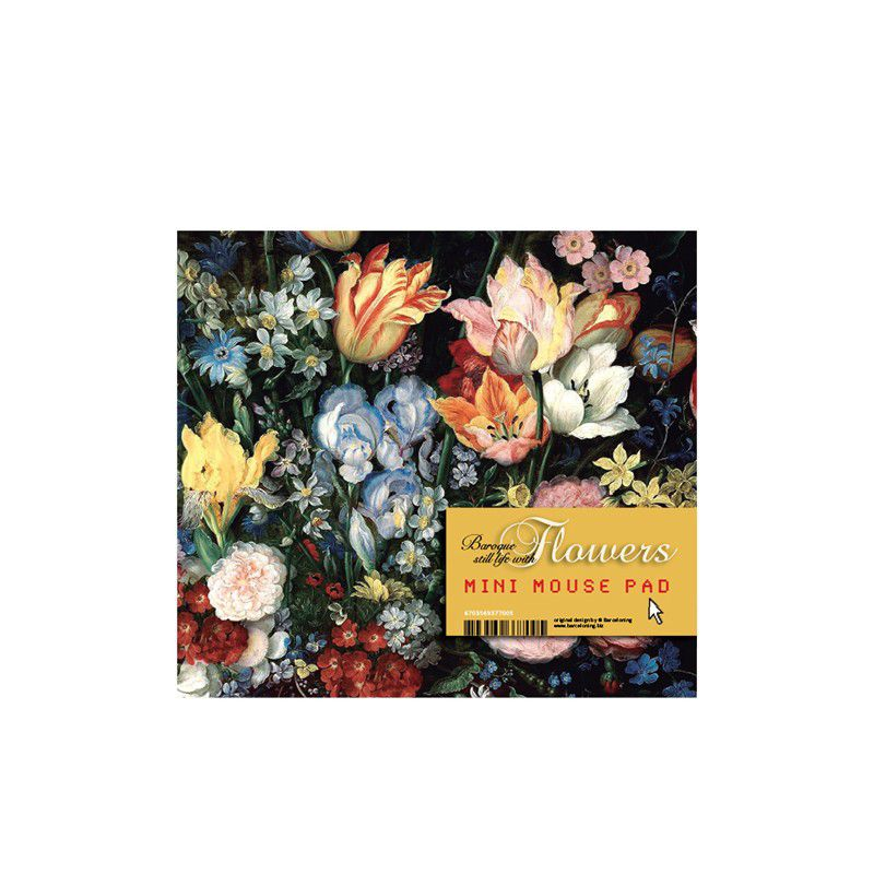 Baroque Flowers Mouse Pad