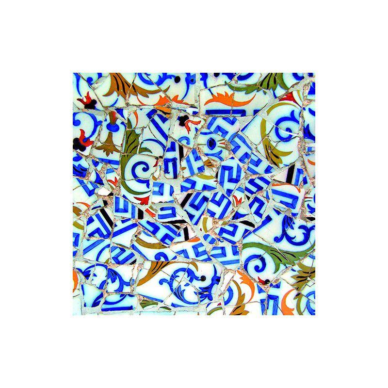 Detalli Trencadís Blau