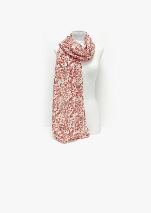 Fulard de seda Roses del Born