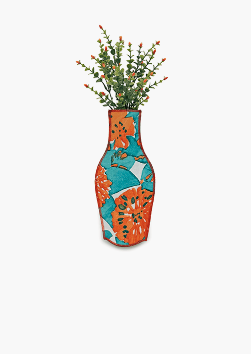 Casa Vicens Cotton Flower Vase