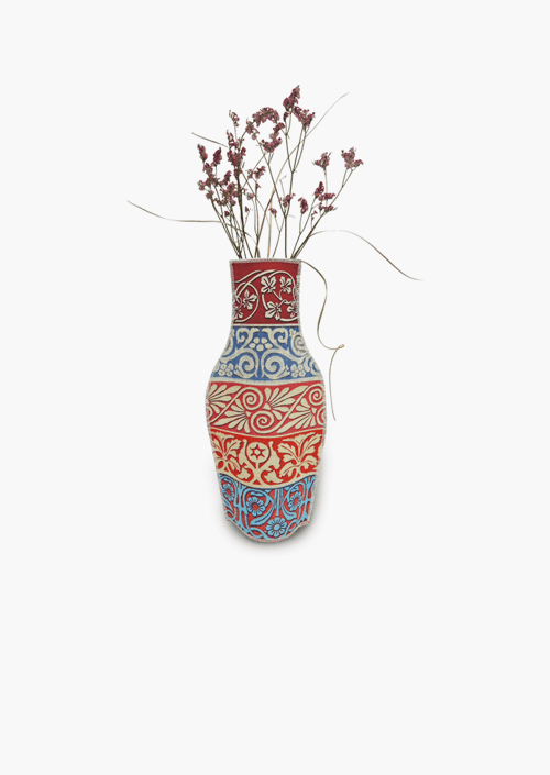 Cenefas Cotton Flower Vase