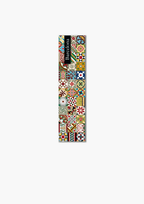 Modernist Tiles Bookmark