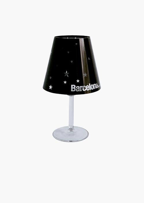 Barcelona By Night Lampshade