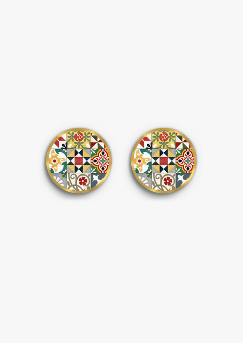 Modernist Tiles Earrings