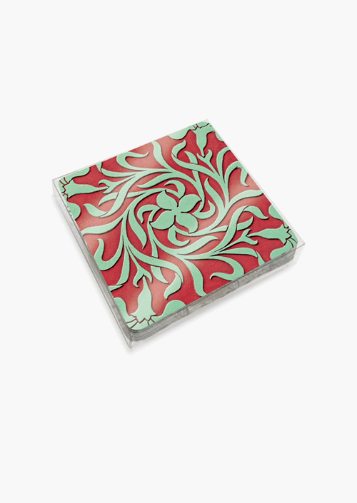6 Sgrafitto Coasters