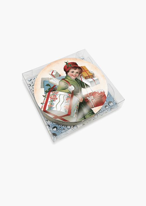 6 Xmas Coasters