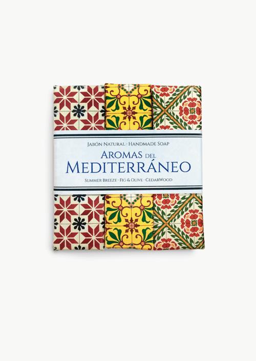 Trío jabones artesanales Mediterráneo
