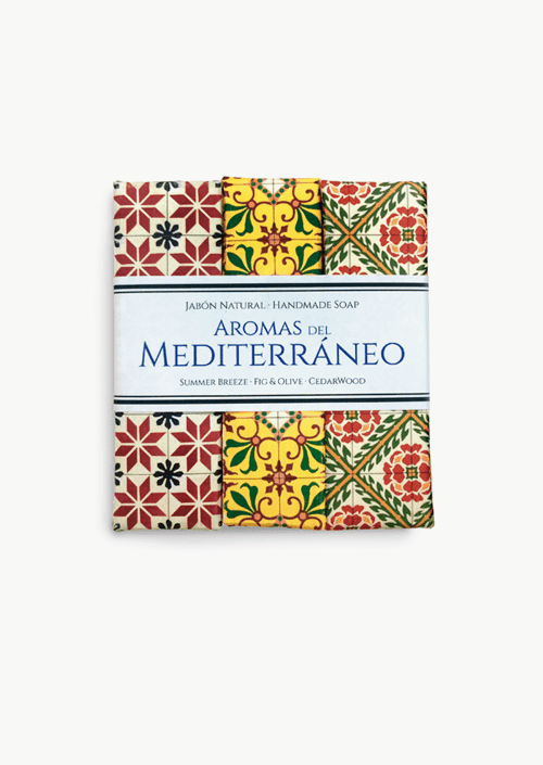 Trio sabons artesanals Mediterrani