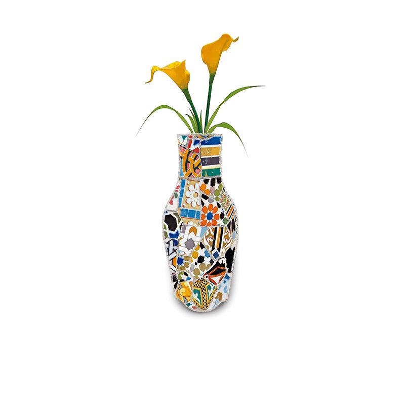 Trencolor Cotton Flower Vase