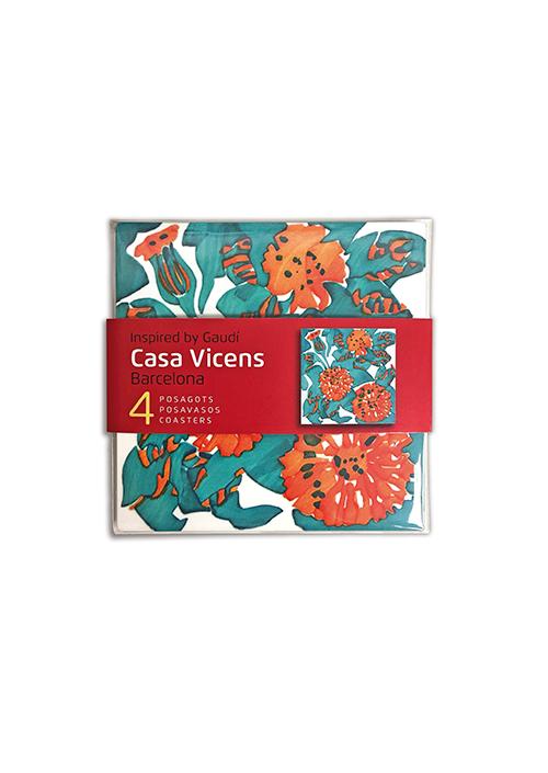 4 Casa Vicens Coasters