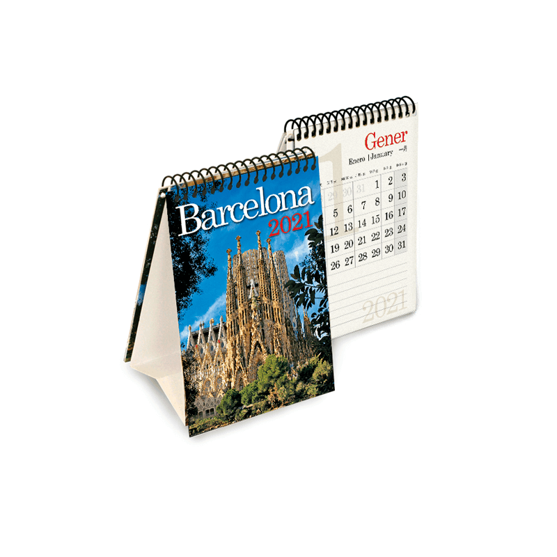 Calendario mini Barcelona