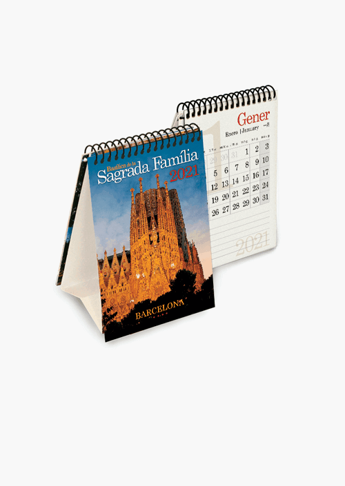 Calendari Mini Sagrada Familia