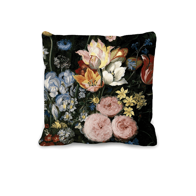 Baroque Flowers Cushion