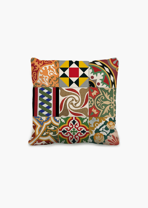 Tiles 45 × 45 cm Cushion