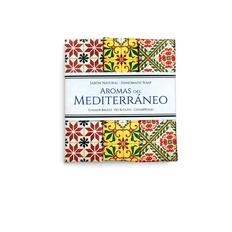 Mediterranean Handmade Soaps Trio