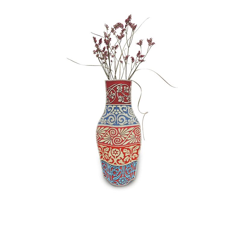 Cenefas Cotton Flower Vase