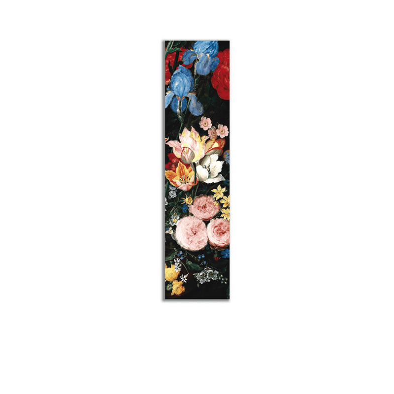 Baroque Flowers Bookmark