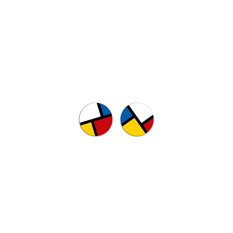 Pendiente Botón Art-Mon