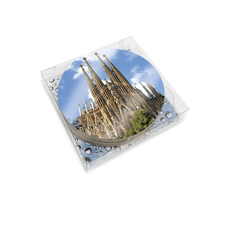 6 Gaudí Coasters