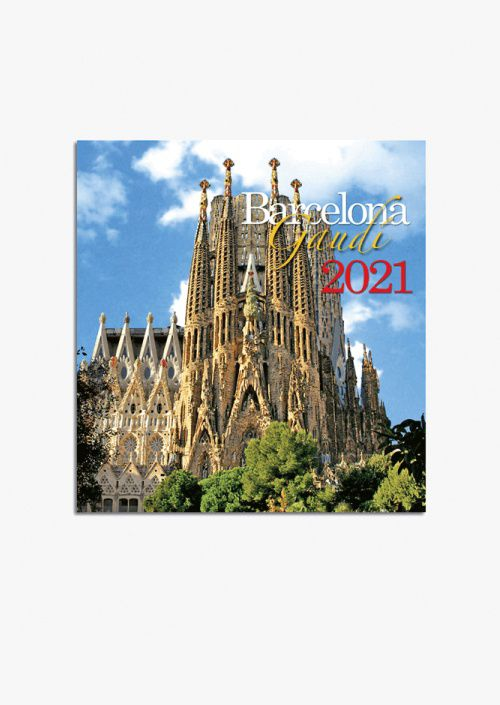 Calendario pared Barcelona.