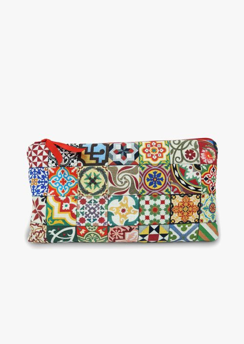 Clutch Baldosas Modernistas
