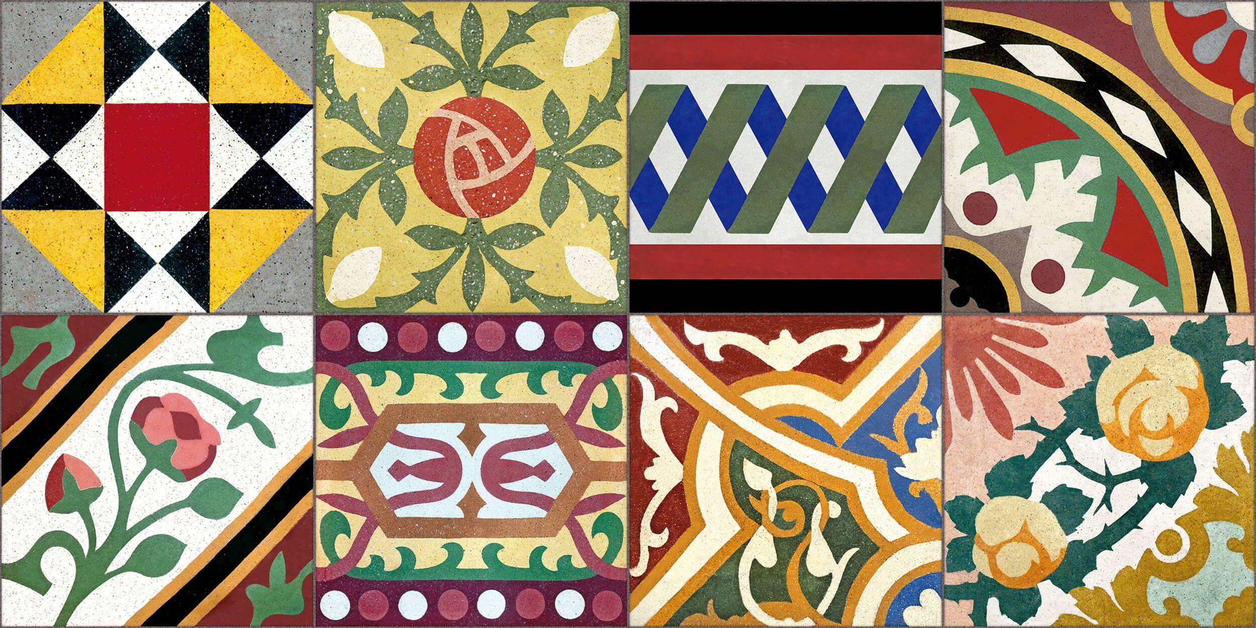 Regalos inspirados en baldosas modernistas