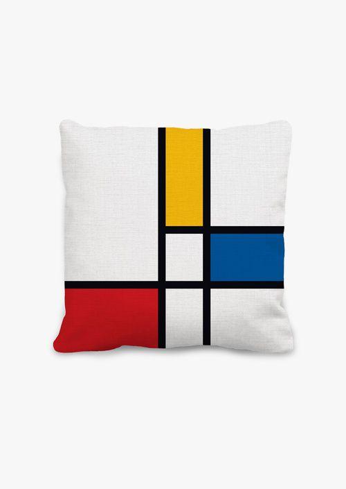 Cojín Mondrian 45 x 45 cm