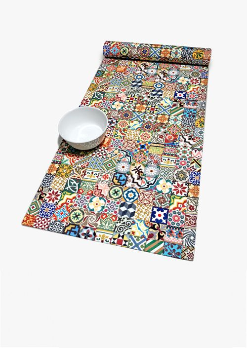 Tiles Table Runner