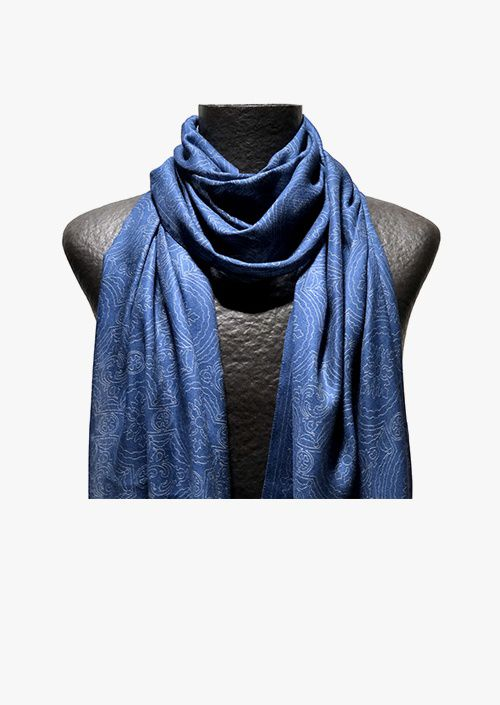 Blue Room Men's scarf
