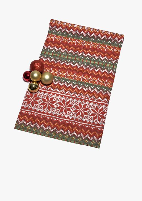 Xmas Knit Table Runner