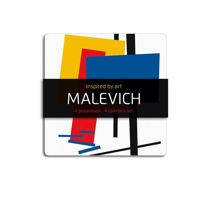 4 Posavasos Malévich