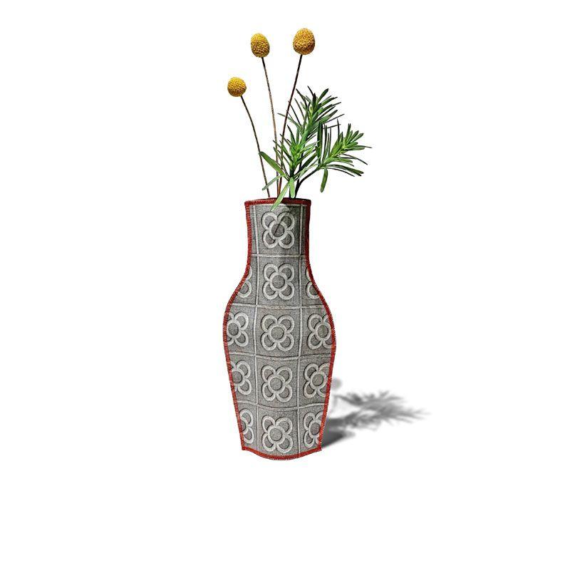 Florero de tela de algodón Panot de Flor