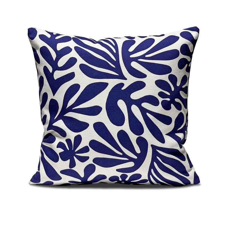 Decorative cushion cover, Mediterranean colors, summer collection